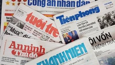 Thu hồi và cấp phép mới cho một số cơ quan báo chí
