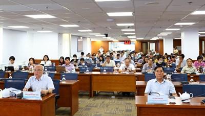 Tập huấn tuyên truyền, phổ biến pháp luật về bầu cử đại biểu Quốc hội và đại biểu Hội đồng nhân dân