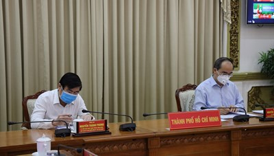 Hình ảnh HNTT Thủ tướng Chính phủ giao ban với các địa phương về phòng chống dịch Covid-19