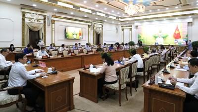 Cập nhật hình ảnh Buổi làm việc của Thủ tướng Nguyễn Xuân Phúc với TP. Hồ Chí Minh