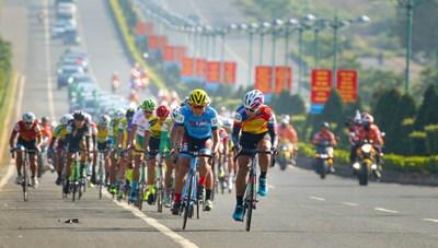 Phối hợp tổ chức đón đoàn đua xe đạp Cúp Truyền hình TP. Hồ Chí Minh 2020