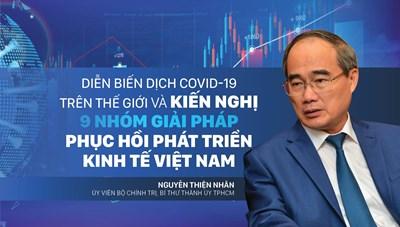 Diễn biến dịch Covid-19 trên thế giới và kiến nghị 09 nhóm giải pháp phục hồi kinh tế Việt Nam