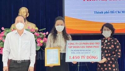 TPHCM: Gần 2.300 tỷ đồng được DN và Người dân đăng ký ủng hộ mua vắc xin ngừa Covid-19