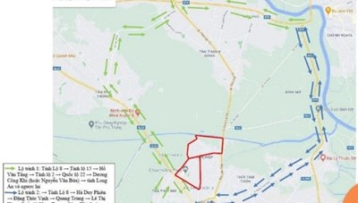Một số lộ trình lưu thông thay thế khi đi qua các địa bàn phong tỏa của huyện Hóc Môn