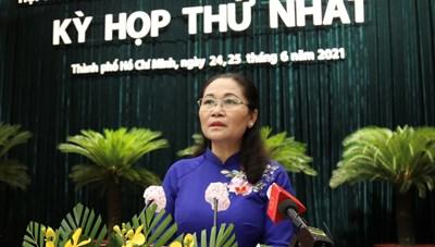 Hình ảnh Kỳ họp thứ nhất Hội đồng nhân dân TPHCM khóa X (ngày 24/6)