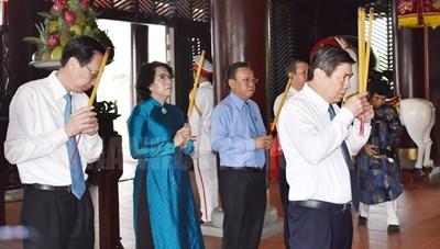 TPHCM long trọng tổ chức Lễ Giỗ Đức Lễ Thành hầu Nguyễn Hữu Cảnh lần thứ 320