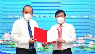 Đồng chí Nguyễn Thành Phong được Thủ tướng phê chuẩn chức vụ Chủ tịch UBND TPHCM, nhiệm kỳ 2021-2026