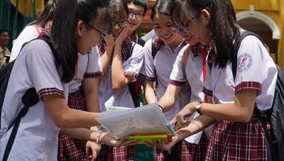 Khi nào công bố điểm thi, điểm chuẩn vào lớp 10 tại TP. Hồ Chí Minh?