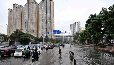 Sở Xây dựng phản hồi thông tin báo chí liên quan đến công tác chống ngập