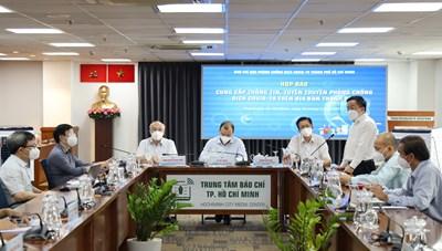 Thông tin nổi bật về công tác phòng, chống dịch COVID-19 tại TPHCM ngày 3/9