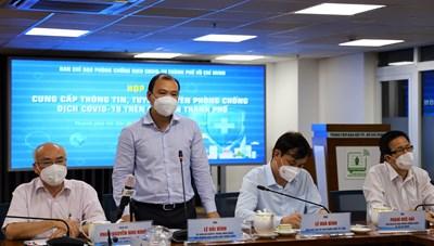 Thông tin họp báo về công tác phòng, chống COVID-19 tại TPHCM ngày 15/9
