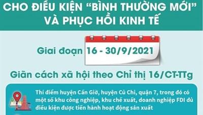 """TPHCM chuẩn bị kỹ cho điều kiện """"bình thường mới"""" và phục hồi kinh tế"""