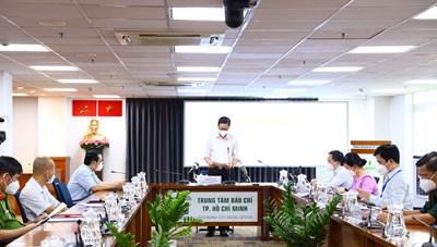 Thông tin họp báo về công tác phòng, chống COVID-19 tại TPHCM ngày 23/9