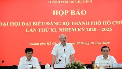 444 đại biểu chính thức tham dự Đại hội Đại biểu Đảng bộ TPHCM lần thứ XI