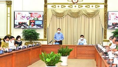 Chủ tịch UBND TPHCM Phan Văn Mãi: Tập trung, dồn sức hoàn thành các chỉ tiêu ở mức cao nhất