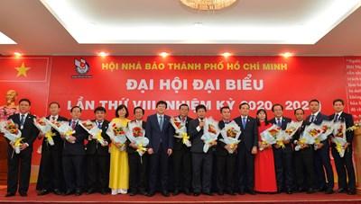 Nhà báo Trần Trọng Dũng tái đắc cử Chủ tịch Hội Nhà báo TPHCM