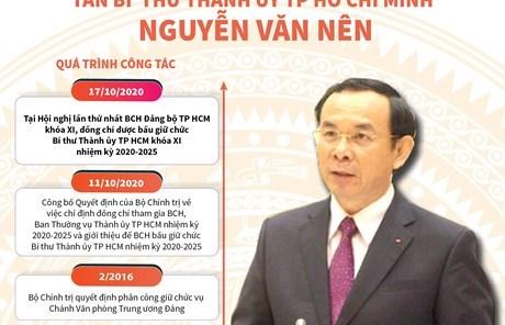 Tiểu sử hoạt động tân Bí thư Thành ủy TP.HCM Nguyễn Văn Nên