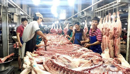 Giá thịt heo và nhiều loại rau củ quả có xu hướng giảm