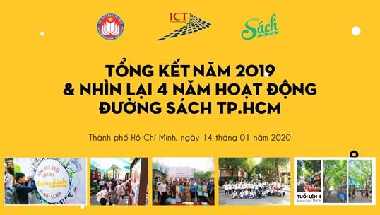 Tổng kết năm 2019 và nhìn lại 4 năm Đường sách Thành phố Hồ Chí Minh