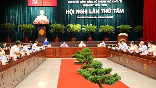 Khai mạc Hội nghị lần thứ 08 Ban chấp hành Đảng bộ TPHCM khóa XI