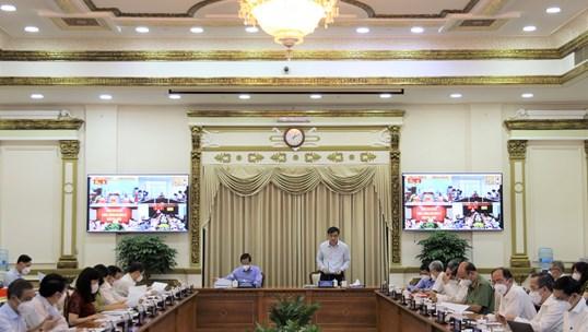 Hình ảnh Hội nghị trực tuyến về tình hình kinh tế - xã hội 9 tháng đầu năm 2021