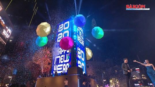 TP. Hồ Chí Minh hân hoan đón khoảnh khắc bước sang năm 2020