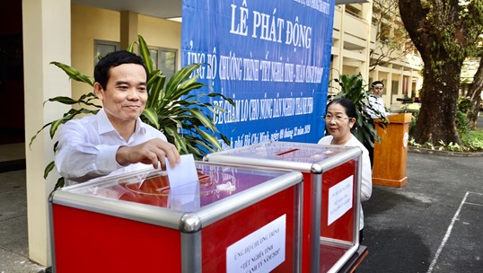Vận động 12 tỷ đồng chăm lo tết cho 3.000 nông dân nghèo TP. Hồ Chí Minh