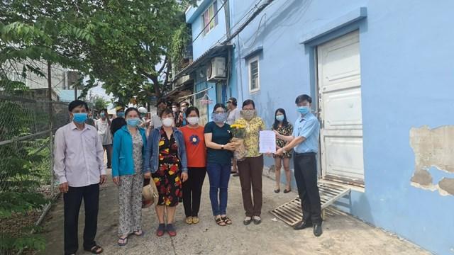 Quận Gò Vấp: Gỡ phong tỏa 01 con hẻm trên địa bàn phường 15