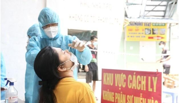 Từ 6 giờ đến 18 giờ ngày 20/6, TPHCM ghi nhận thêm 91 trường hợp nhiễm, đa phần là các tiếp xúc liên quan đến bệnh nhân đã được công bố