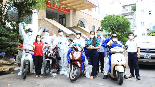 Gần 5.000 túi an sinh được chuyển đến TP Thủ Đức và các quận, huyện trong ngày 8/9
