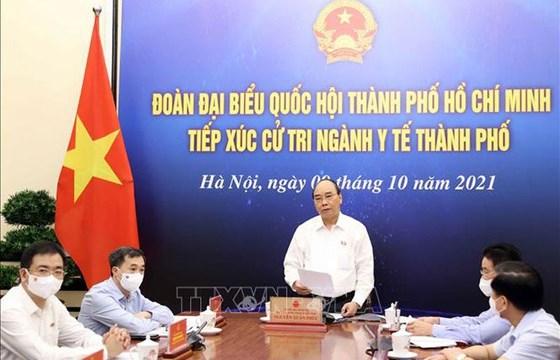 Chủ tịch nước Nguyễn Xuân Phúc: Các chiến sĩ áo trắng là anh hùng thầm lặng