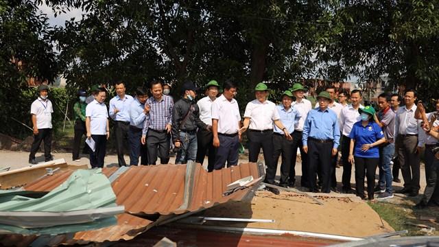Chấm dứt tình trạng vi phạm xây dựng, phân lô bán nền trên đất nông nghiệp tại Bình Chánh