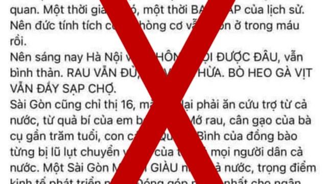 """Thanh tra Sở Thông tin và Truyền thông TPHCM đã gửi thư mời chủ tài khoản facebook """"Hằng Nguyễn"""" lên làm việc"""