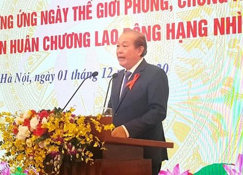 Việt Nam phấn đấu cơ bản chấm dứt dịch bệnh AIDS vào năm 2030