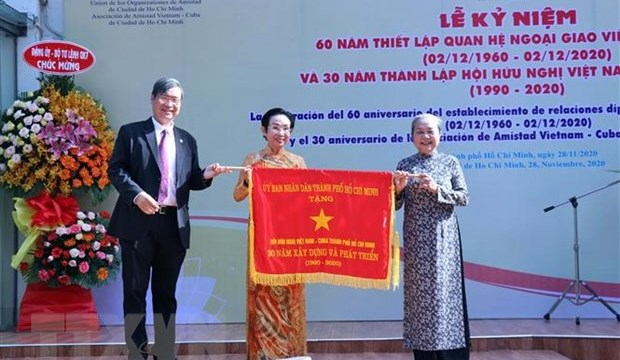 Kỷ niệm 60 năm thiết lập quan hệ ngoại giao Việt Nam - Cuba