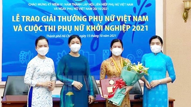 TPHCM: Bệnh viện Phụ sản Hùng Vương nhận giải thưởng Phụ nữ Việt Nam năm 2021