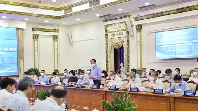 TPHCM bàn giải pháp phục hồi và phát triển kinh tế - xã hội giai đoạn 2022-2025
