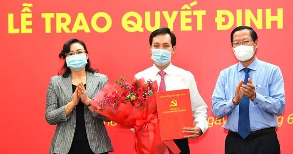 Chỉ định Chủ tịch UBND quận 10 làm Bí thư Đảng ủy Saigon Co.op