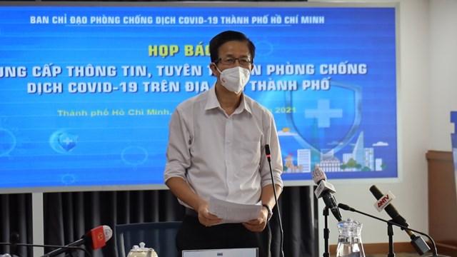 Thông tin nổi bật về phòng, chống dịch COVID-19 tại TPHCM ngày 8/9