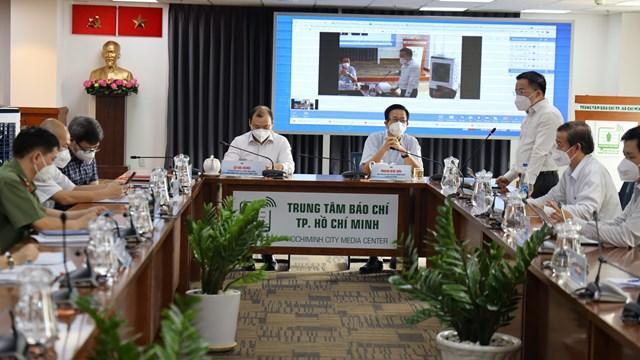 Thông tin nổi bật về phòng, chống dịch COVID-19 tại TPHCM ngày 12/9