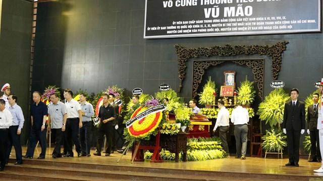 Tổ chức trọng thể lễ tang đồng chí Vũ Mão theo nghi thức Lễ tang Cấp cao