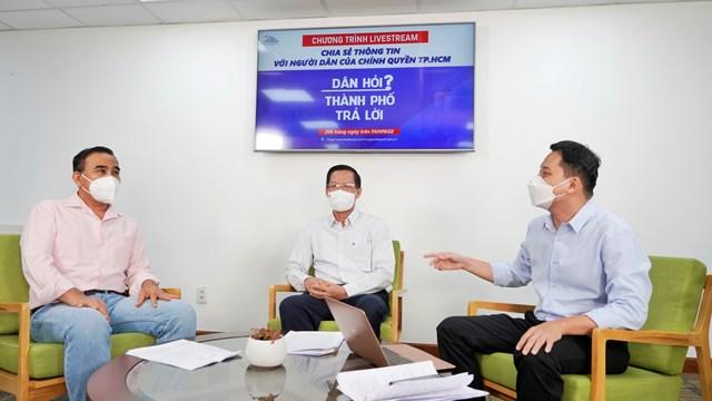 Chủ tịch UBND TPHCM Phan Văn Mãi: Thành phố nới lỏng giãn cách dựa trên nguyên tắc an toàn dịch bệnh