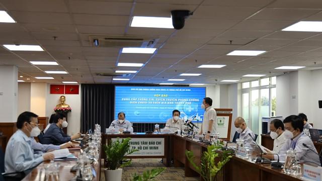 Thông tin nổi bật về công tác phòng, chống dịch COVID-19 tại TPHCM ngày 7/9