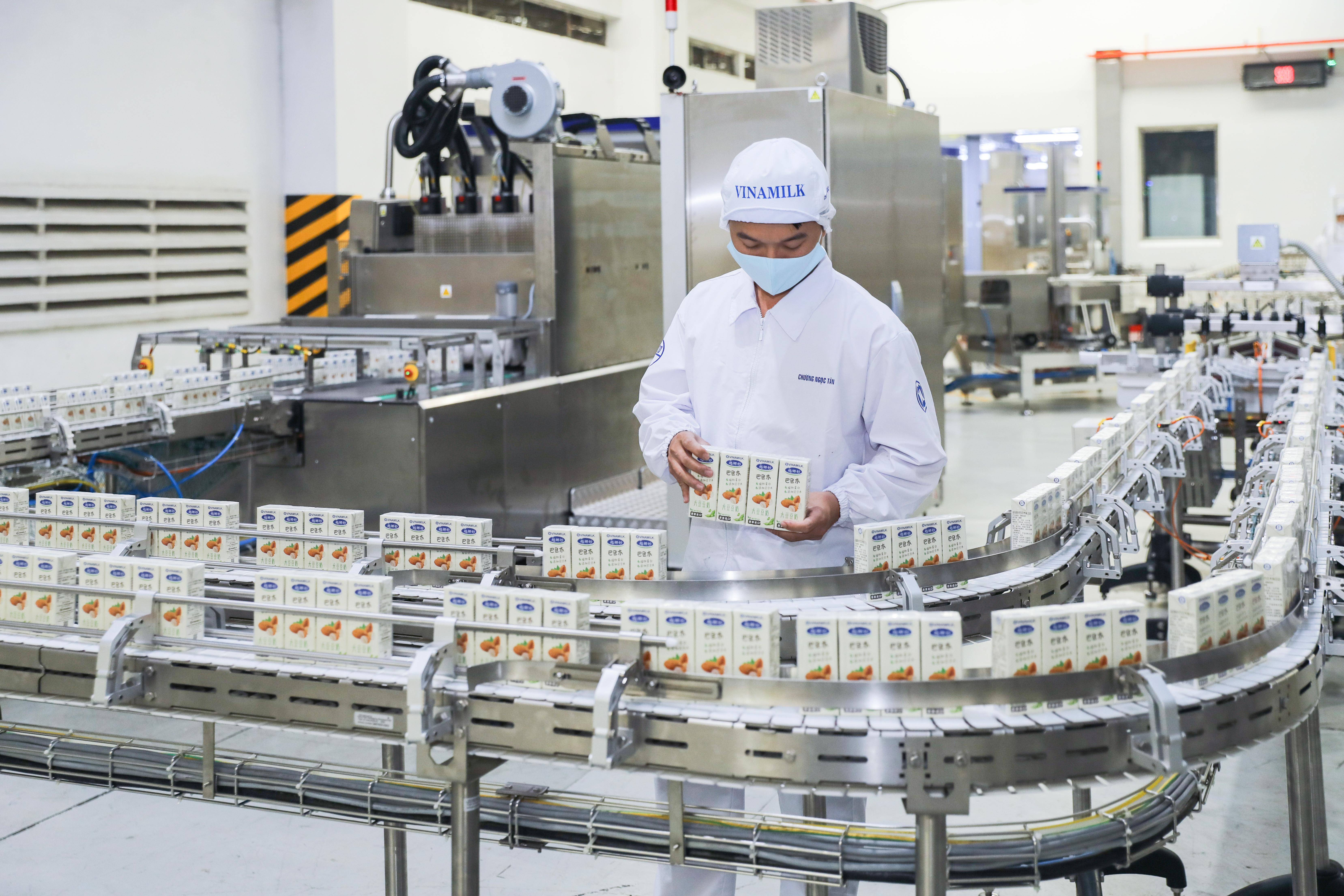 Bên cạnh giữ vững thị trường trong nước, hoạt động kinh doanh quốc tế của Vinamilk ghi nhận sự tăng trưởng tích cực dù gặp khó khăn chung do Covid-19
