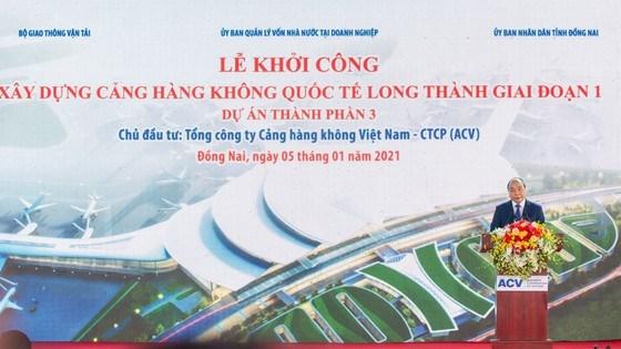Thủ tướng bấm nút khởi công xây dựng Cảng Hàng không quốc tế Long Thành - Ảnh 2