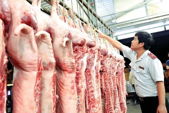 Kiểm tra an toàn vệ sinh thực phẩm. Ảnh: Nguyễn Nhân