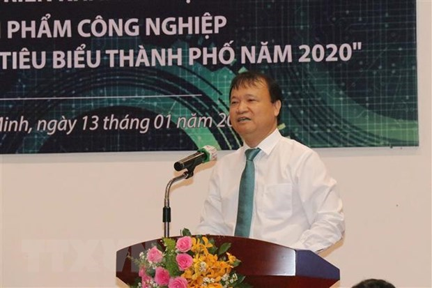 Thứ trưởng Bộ Công Thương Đỗ Thắng Hải phát biểu tại Hội nghị. (Ảnh: Thanh Vũ/TTXVN)