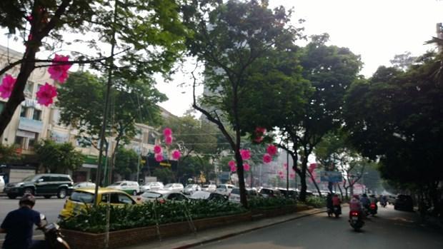 Đường Lê Lợi, quận 1, TP. HCM. (Ảnh: Wikimedia)