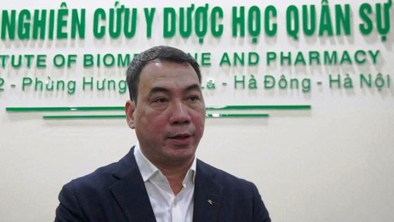 Ông Nguyễn Ngô Quang, Phó Cục trưởng Cục Khoa học công nghệ và đào tạo (Bộ Y tế), Chánh Văn phòng Chương trình quốc gia nghiên cứu phát triển vaccine