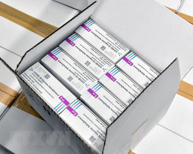Vắcxin ngừa COVID-19 của hãng AstraZeneca. (Ảnh: AFP/TTXVN)